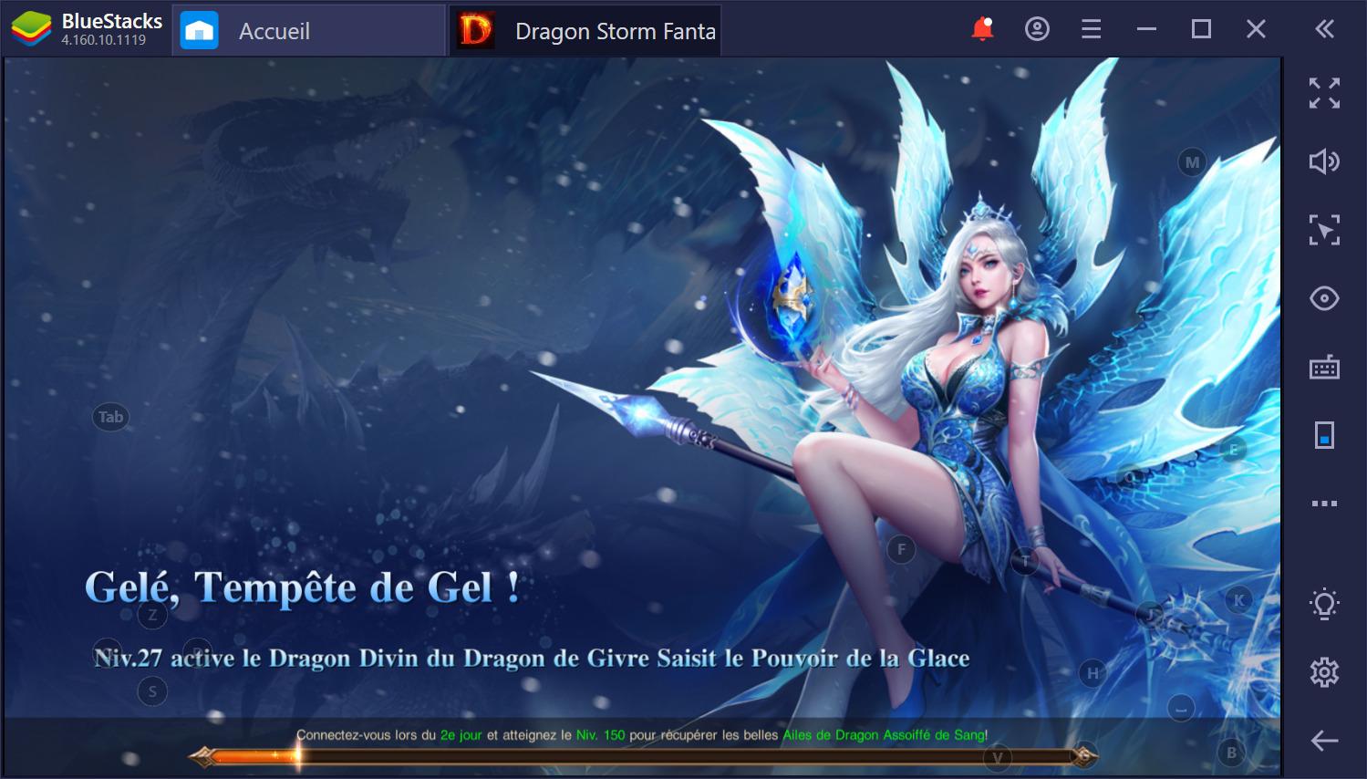 Dragon Storm Fantasy sur PC Guide des activités quotidiennes