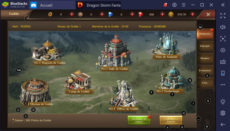 Dragon Storm Fantasy sur PC : Gagner rapidement des niveaux