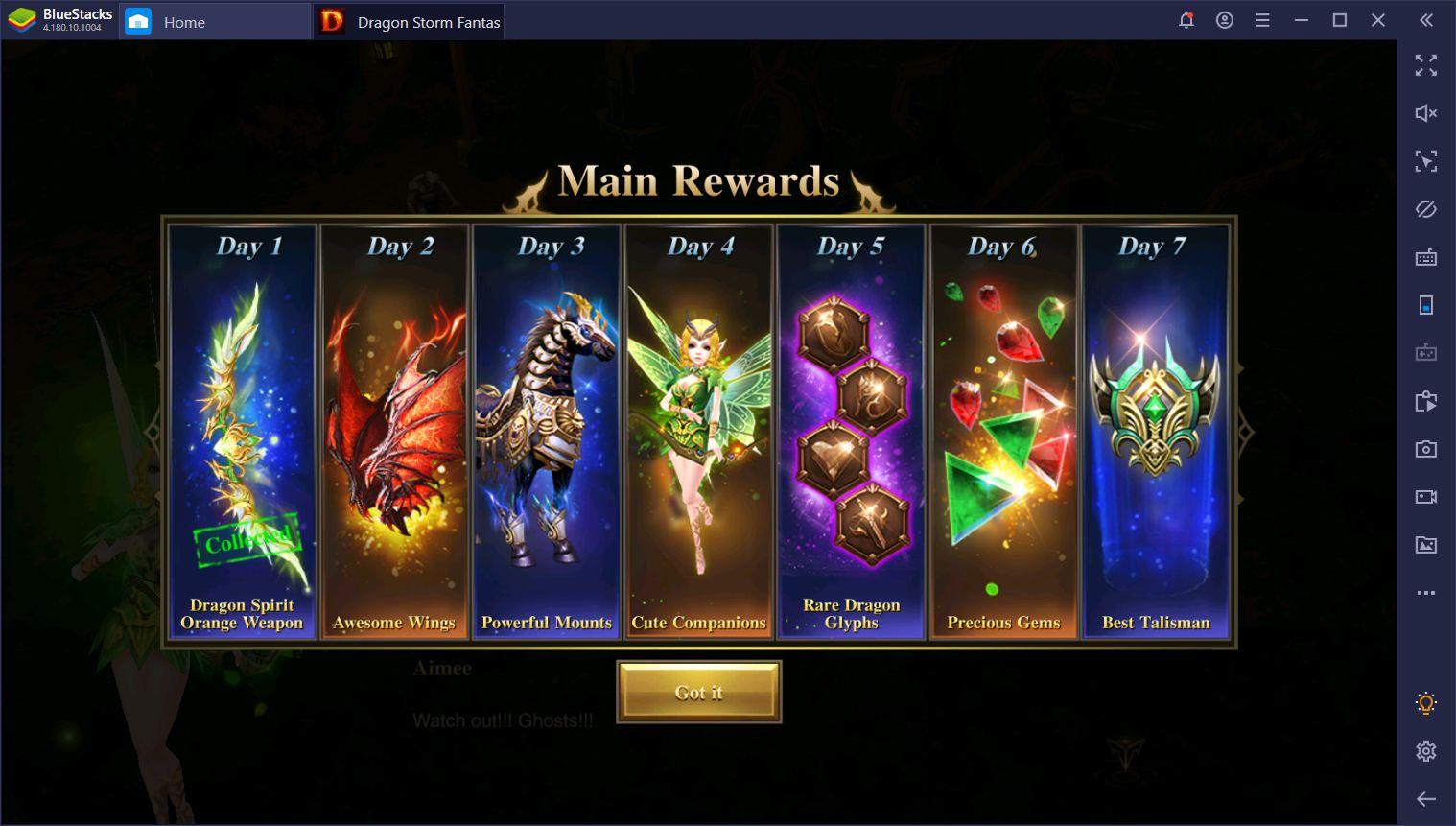 Anfänger-Leitfaden für Dragon Storm Fantasy auf dem PC