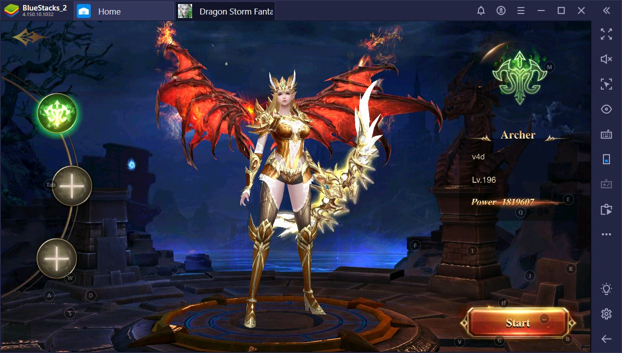 Dragon Storm Fantasy on PC: Class and Character Improvement Guide