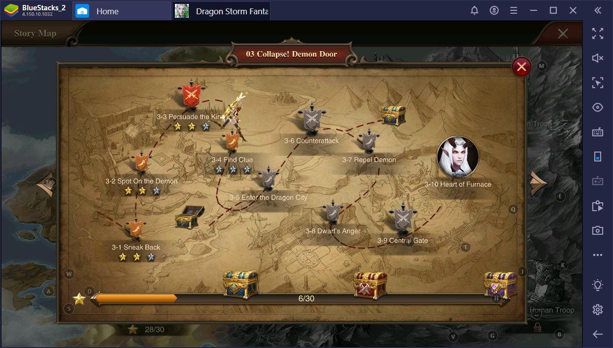 Dragon Storm Fantasy auf dem PC: Leitfaden zu täglichen Aktivitäten