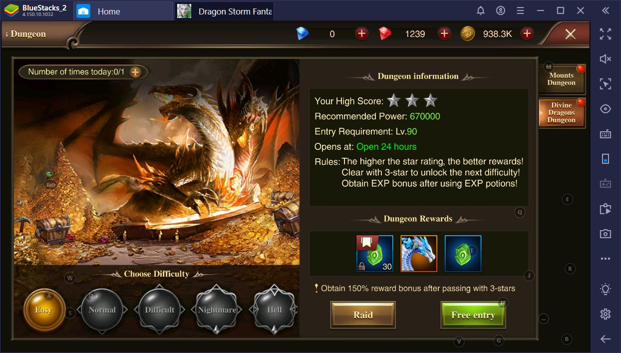 Dragon Storm Fantasy: Daily Activity Guide