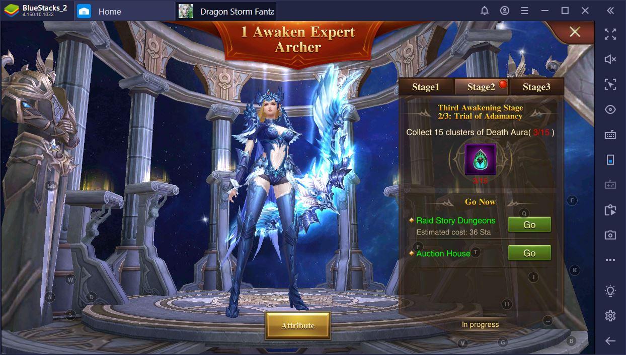 Dragon Storm Fantasy: Wie du auf BlueStacks spielst