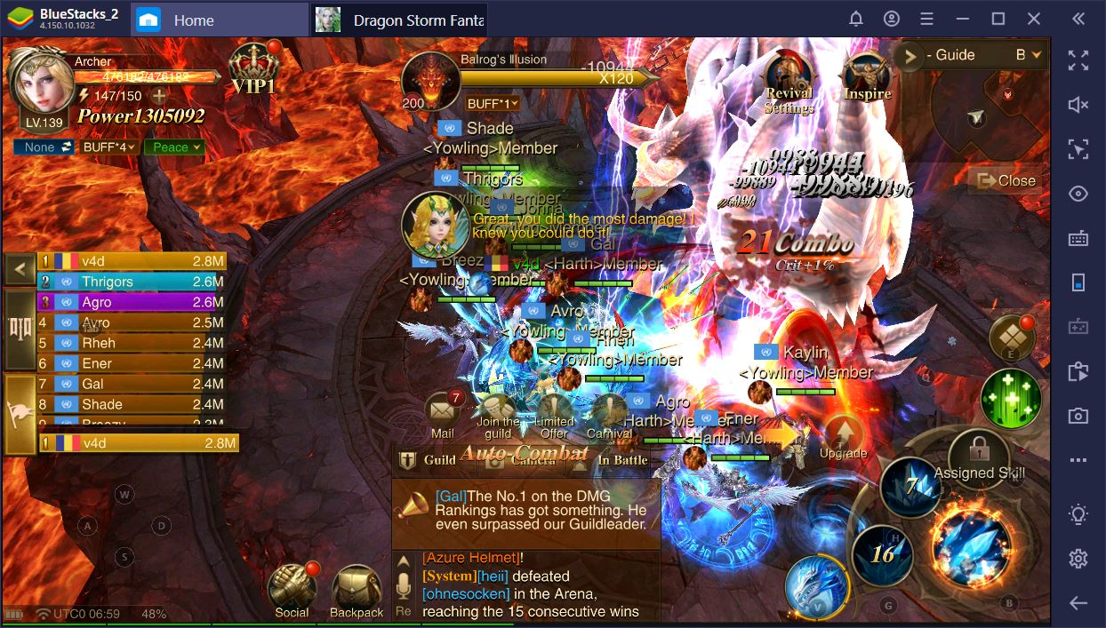Dragon Storm Fantasy on PC: How to Level Up Fast