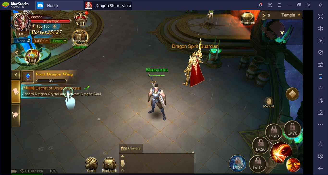 Dragon Storm Fantasy İçin BlueStacks Yükleme Ve Kurulum Rehberi