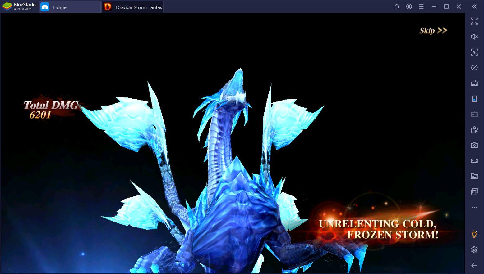 Dragon Storm Fantasy auf dem PC – die besten Kampf-Tipps und -Tricks
