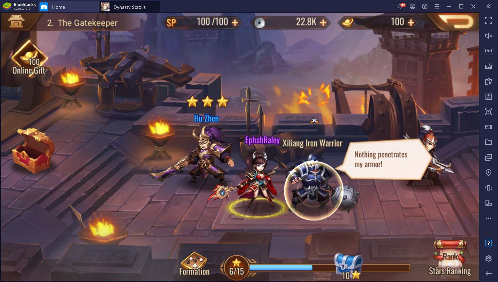 Dynasty Scrolls on PC – Installez et Jouez à ce RPG Idle sur Votre Ordinateur avec BlueStacks