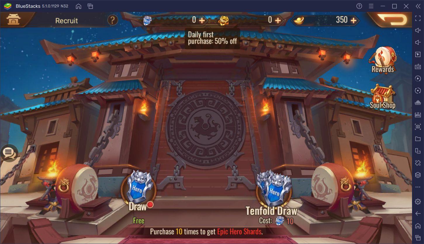 Dynasty Scrolls En İyi Kahramanlar
