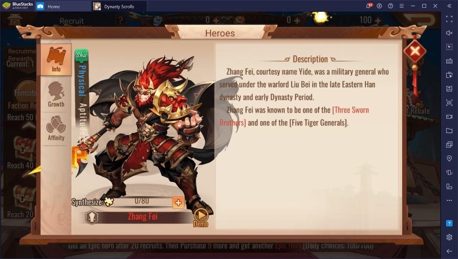 5 Лучших персонажей в Dynasty Scrolls