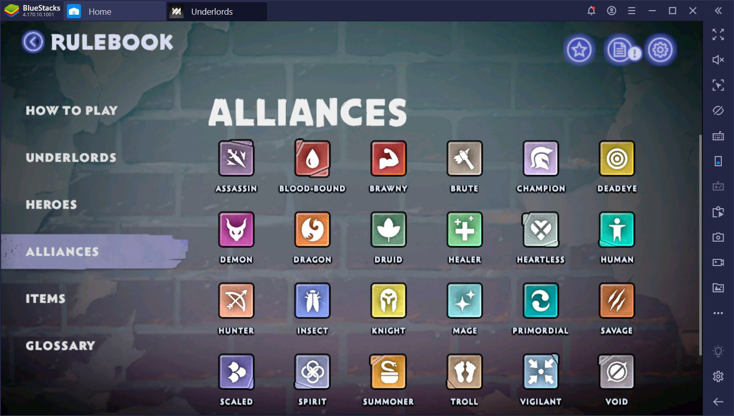 DotA Underlords: Season 1 Updated Alliances Guide