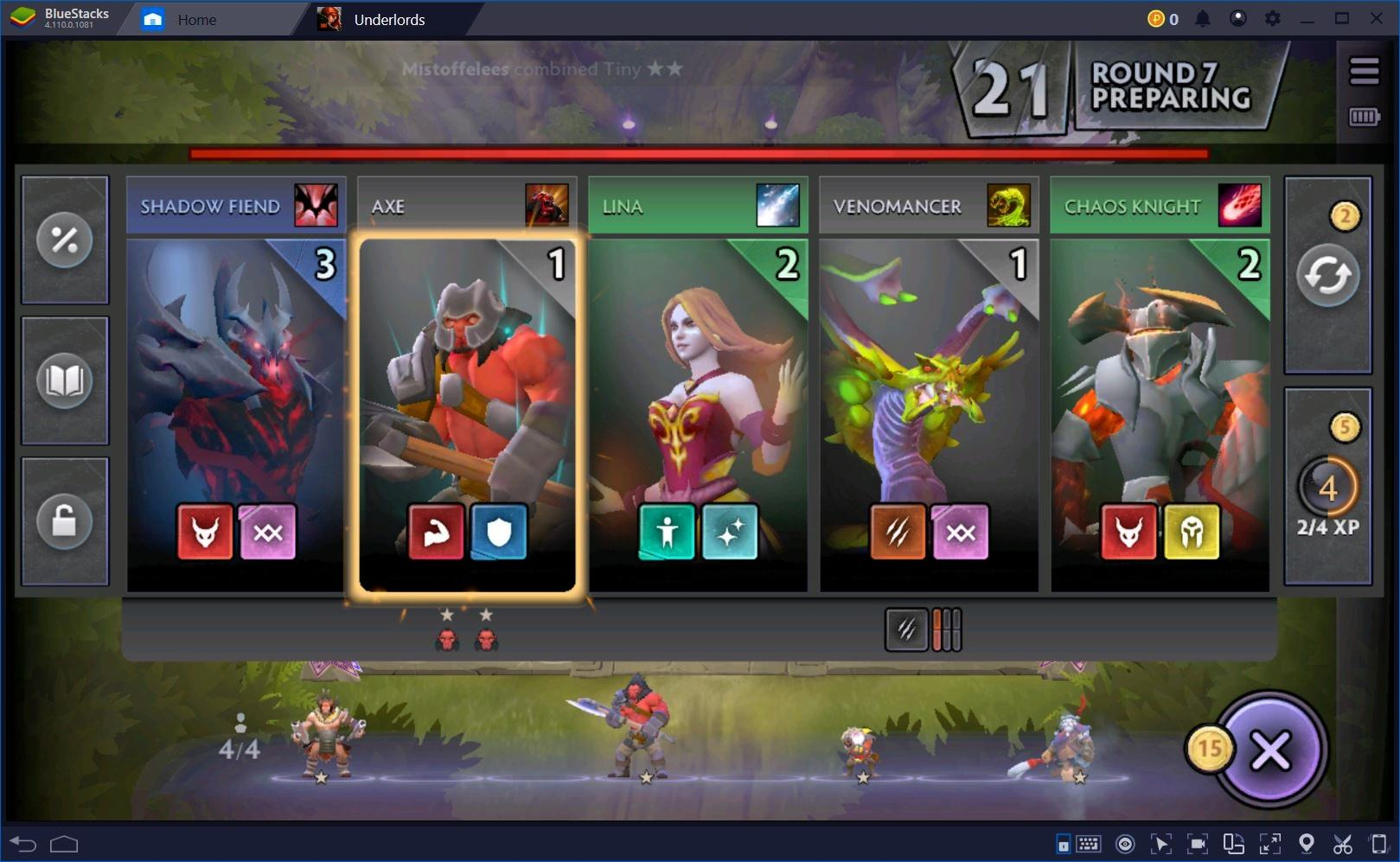 Dota Underlords: Should You Transition or Stick to Your Guns?