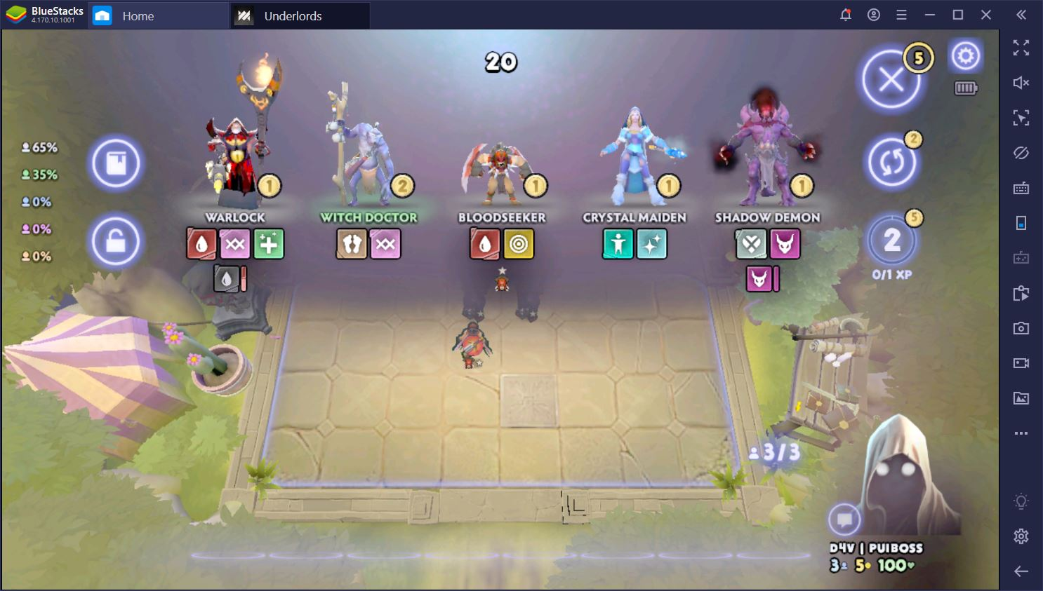DotA Underlords on PC: Updated Guide for Returning Beta Players