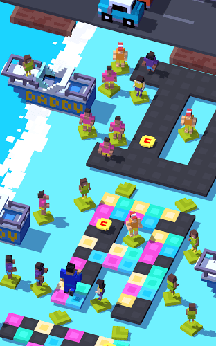 เล่น Crossy Road on PC 11
