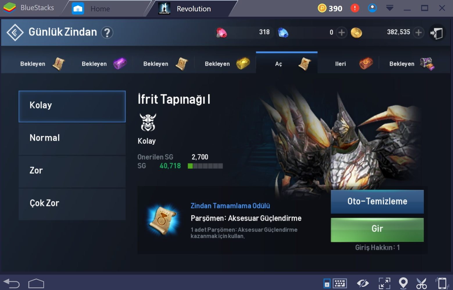 Lineage 2 Daily Dungeon Tr