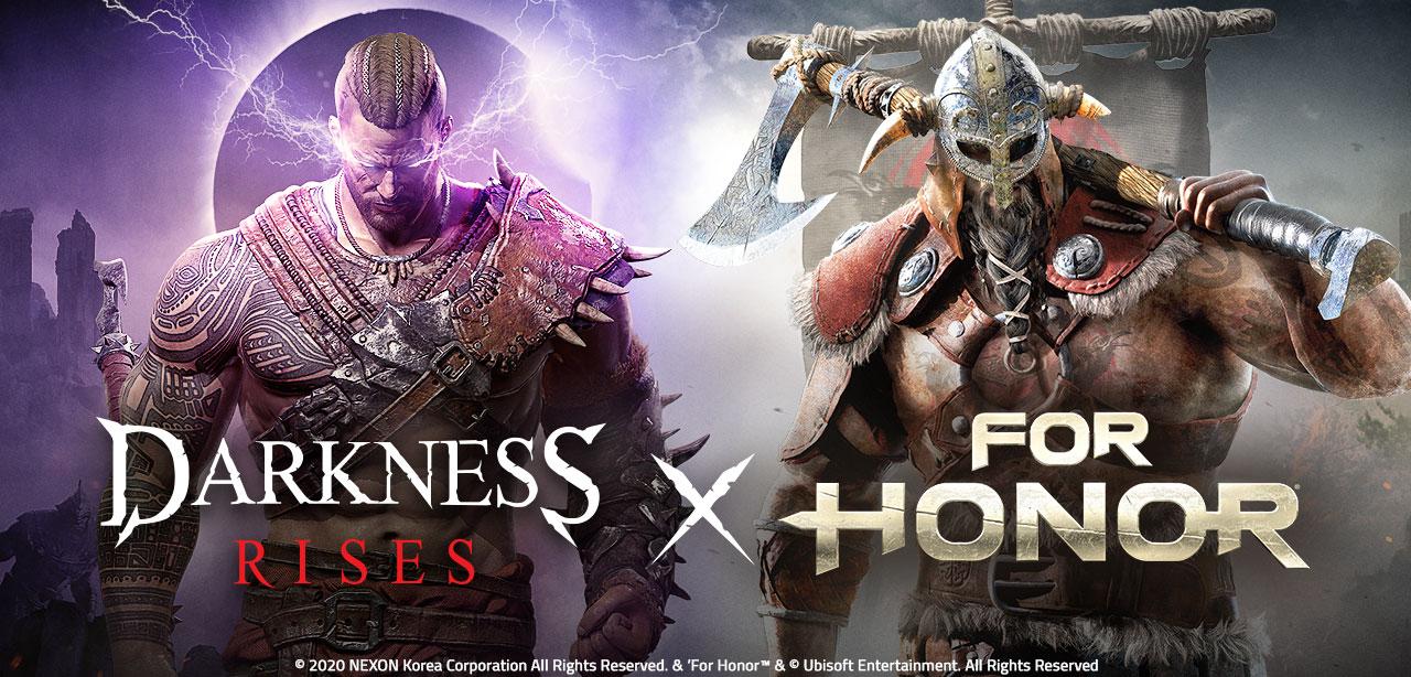 Evento de Colaboración Darkness Rises x For Honor Llegando en Diciembre