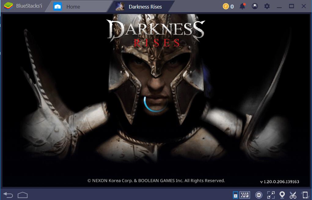 Darkness Rises BlueStacks ile Karanlık Daha da Yükselecek!