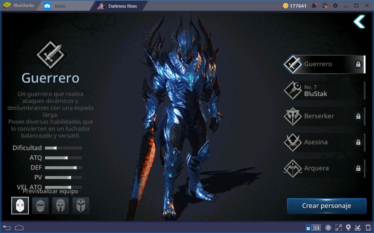 Darkness Rises—¡Protege al Reino de Losteria con BlueStacks!