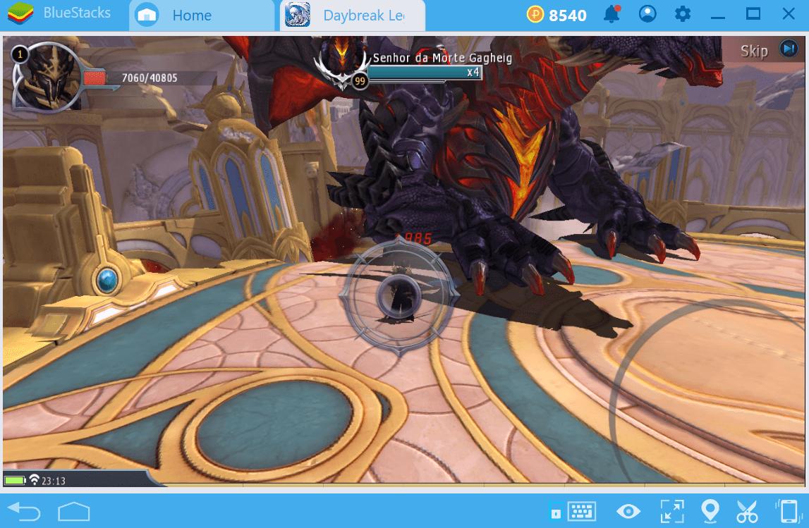 Como deixar o seu personagem mais forte em Daybreak Legends: Origin.