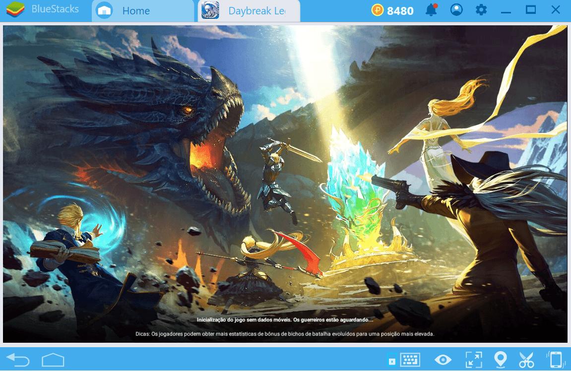 Seja um novato melhor em Daybreak Legends: Origin