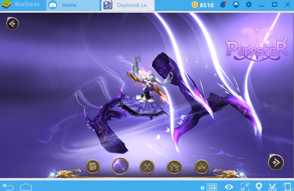 Escolhendo a classe correta em Daybreak Legends: Origin.