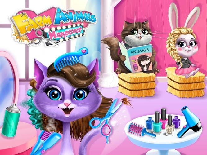 Play Farm Animals Makeover – Cute Virtual Pet Salon on PC 11
