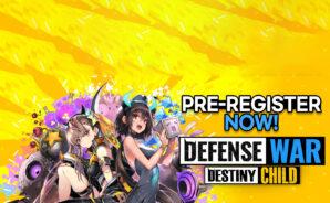 Destiny Child: Defense War Pre-Registrations Open