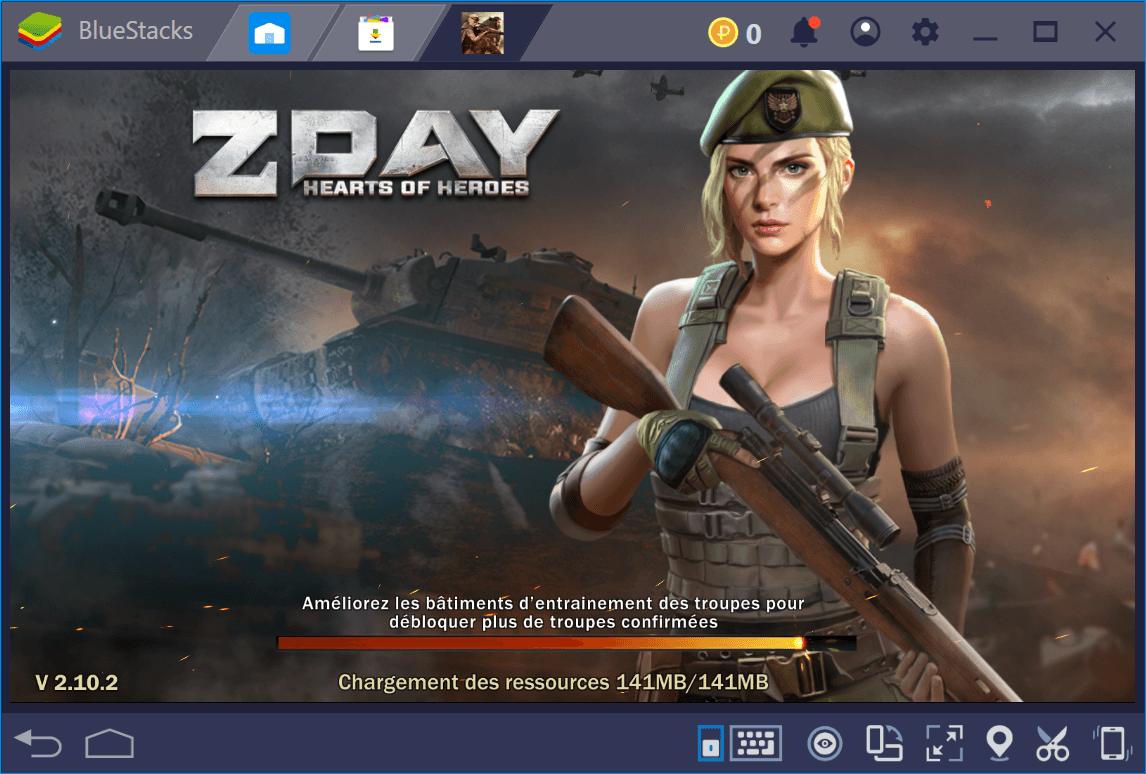 Devenez un commandant en chef de la Seconde Guerre mondiale dans Z Day: Guerre des Zombies