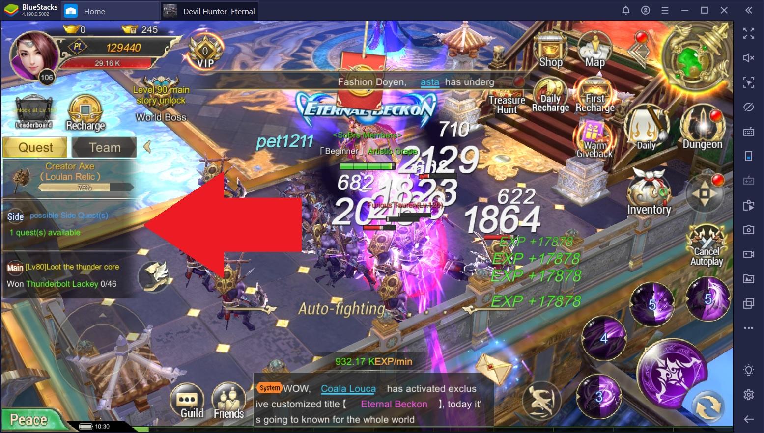 Devil Hunter: Eternal War – The Best Tips and Tricks for Getting Started on BlueStacks