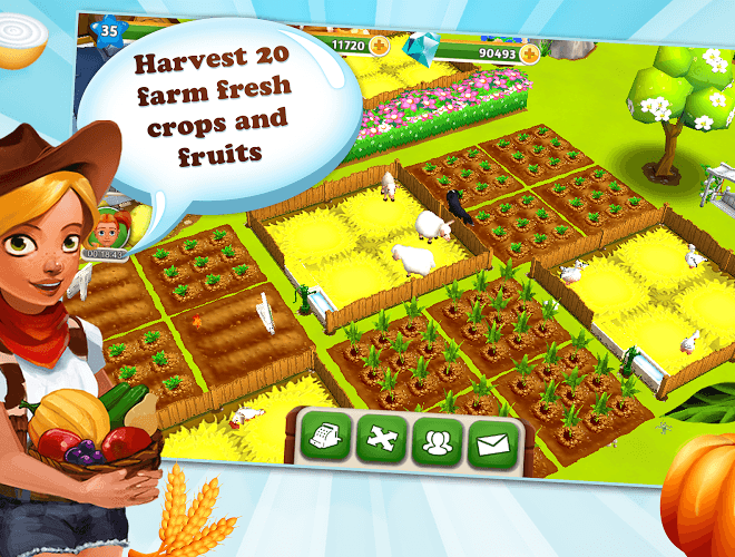 เล่น My Free Farm 2 on PC 10