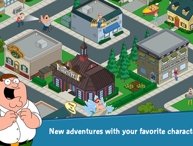 إلعب Family Guy: The Quest for Stuff on PC 16