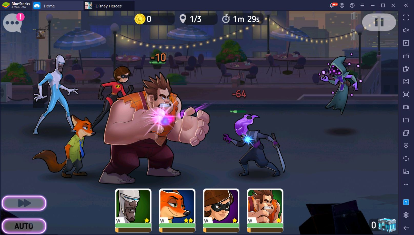 Disney Heroes: Battle Mode on PC – Play on BlueStacks and Get Access to Exclusive Tools and Features