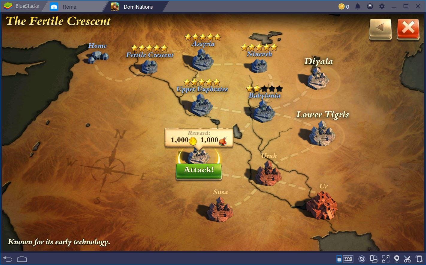 Conquiste o mundo de DomiNations com BlueStacks