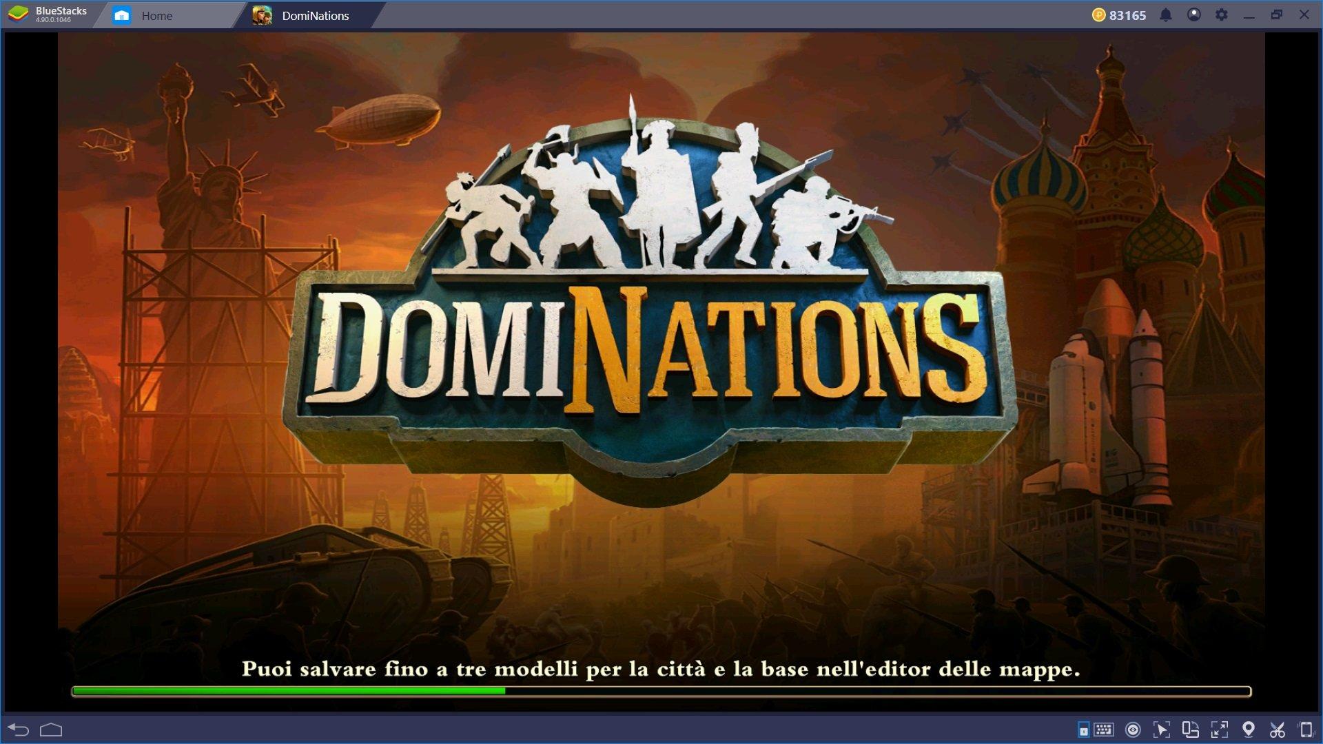 La Guida per i nuovi giocatori di DomiNations