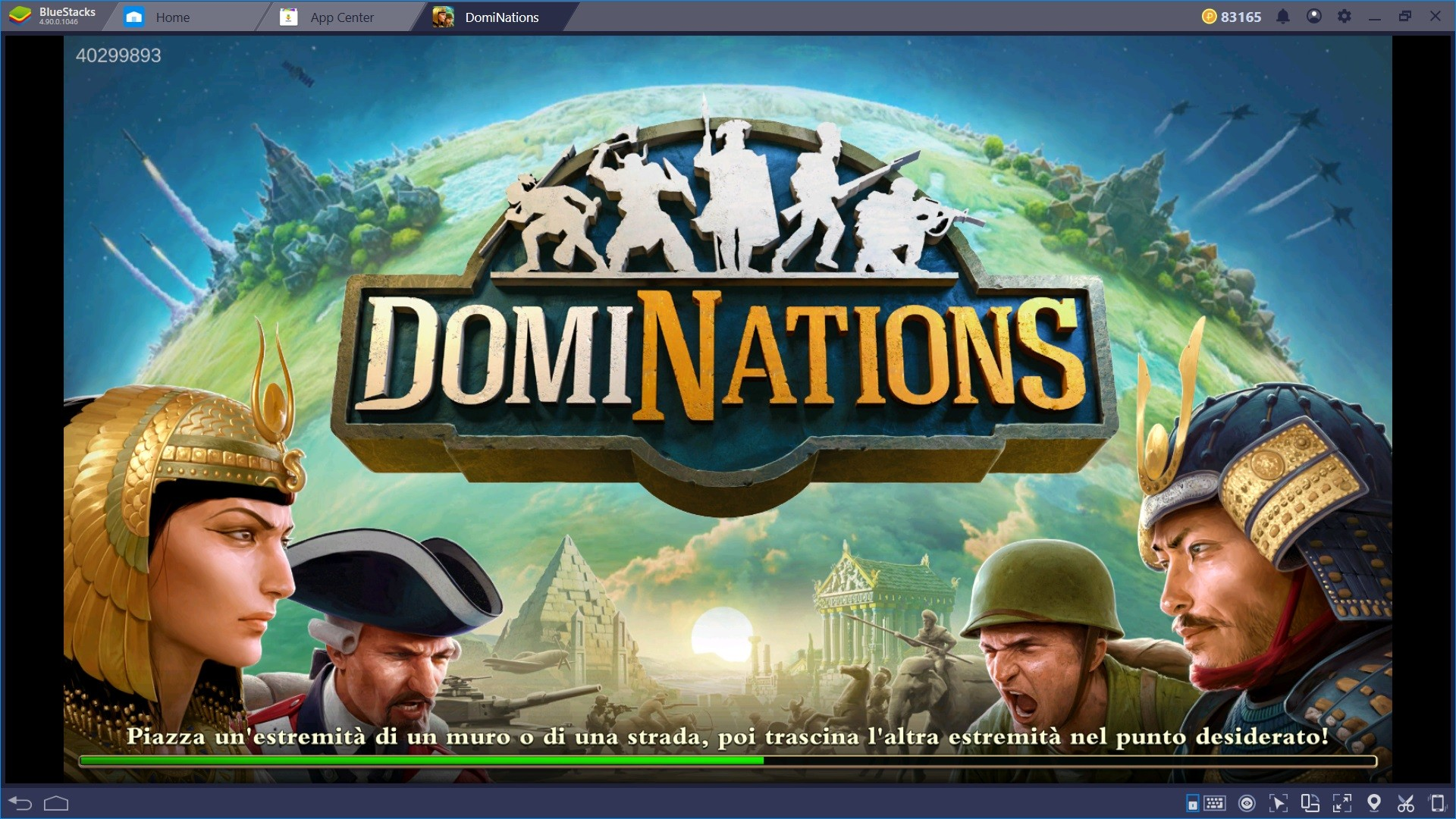 Gioca a DomiNations e conquista il mondo con Bluestacks!