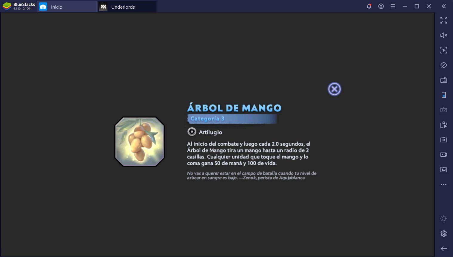 Dota Underlords - Lista de Items Actualizada Para Season 1