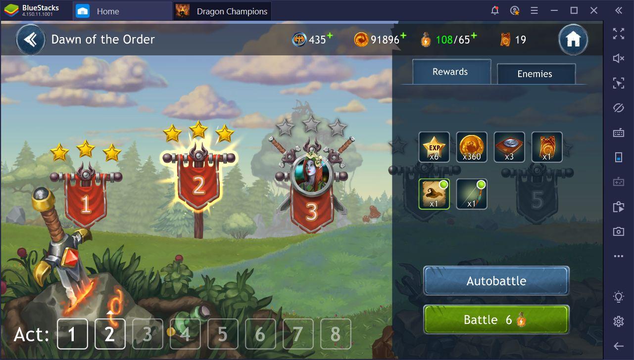 Dragon Champions sur PC - le guide complet pour utiliser BlueStacks