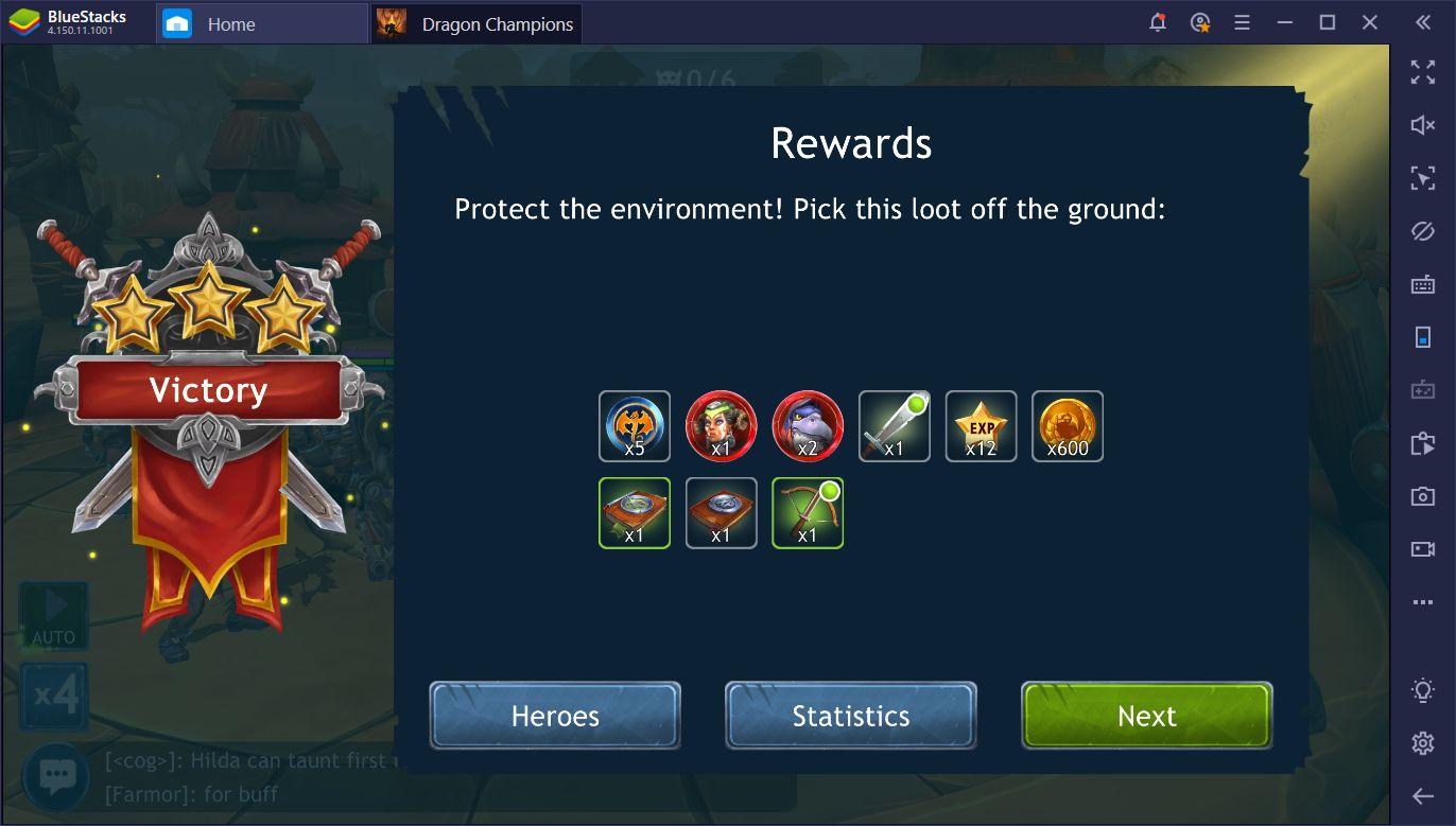 Dragon Champions sur PC – Trucs et astuces pour progresser rapidement