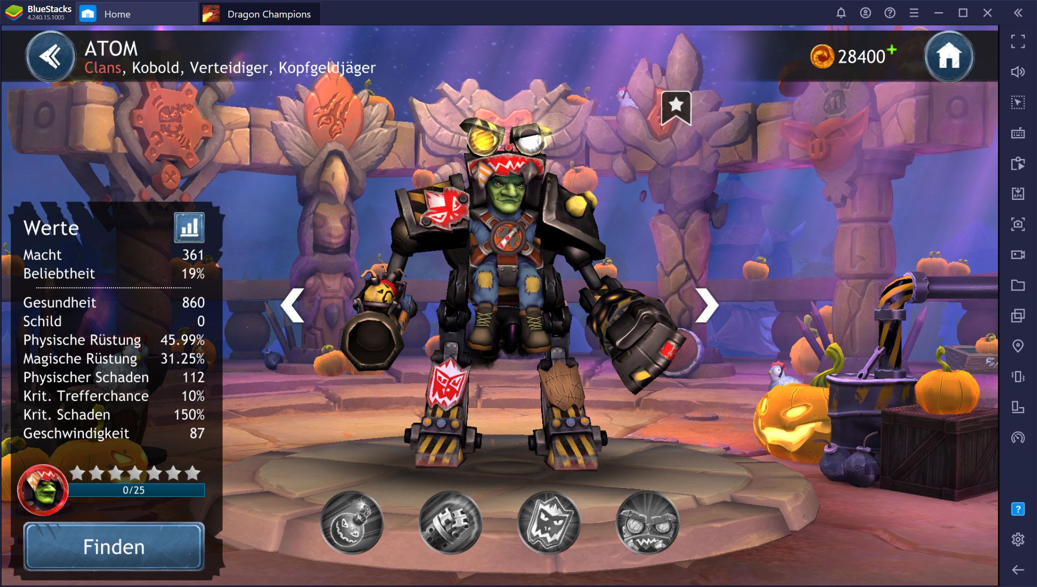 Dragon Champions auf dem PC – So erhältst und verbesserst du deine Helden