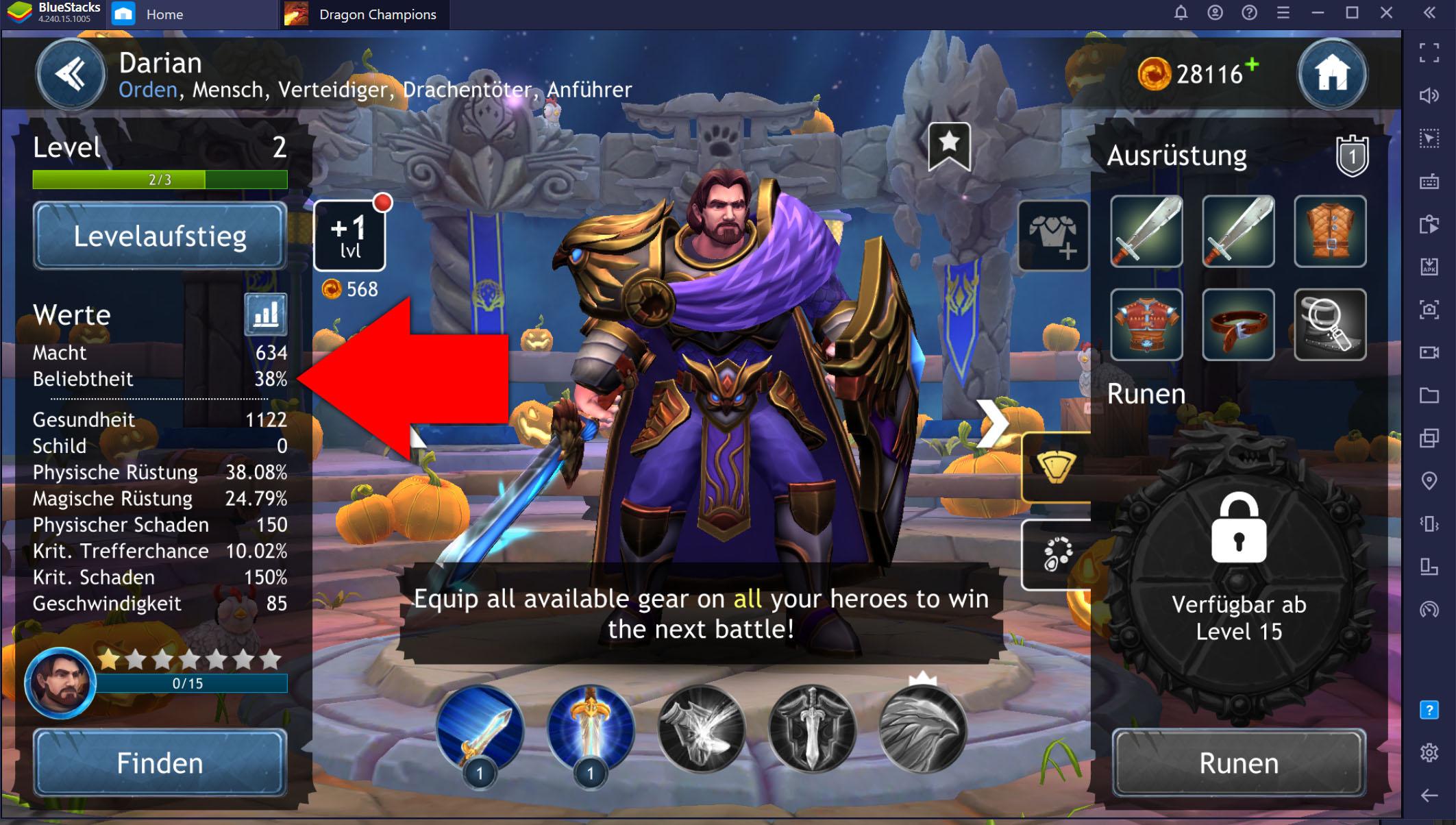Dragon Champions auf dem PC – Tipps und Tricks für Team-Aufstellung und Kampf