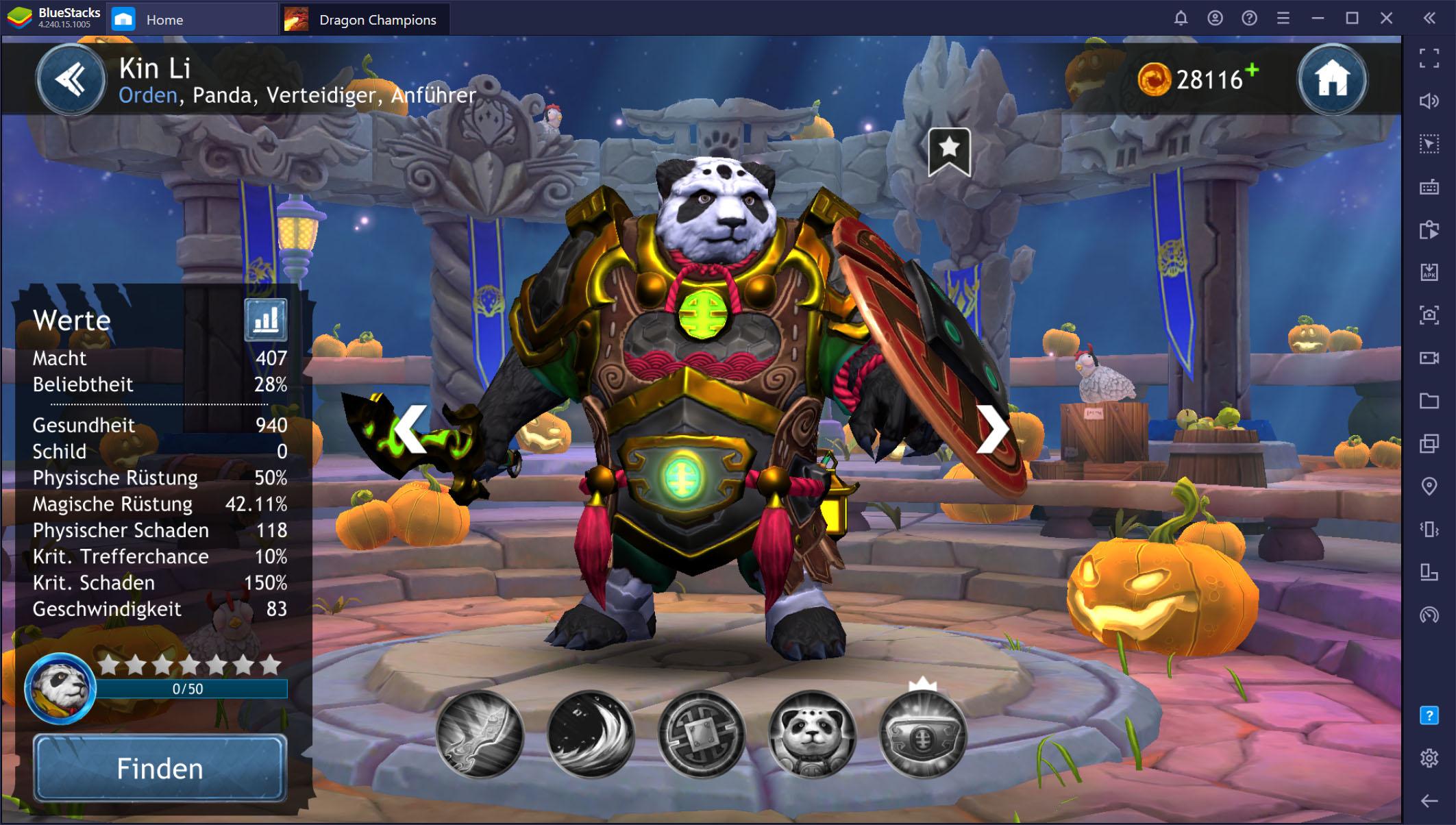 Dragon Champions auf dem PC – Helden-Rangliste: Schalte die besten Charaktere im Spiel frei