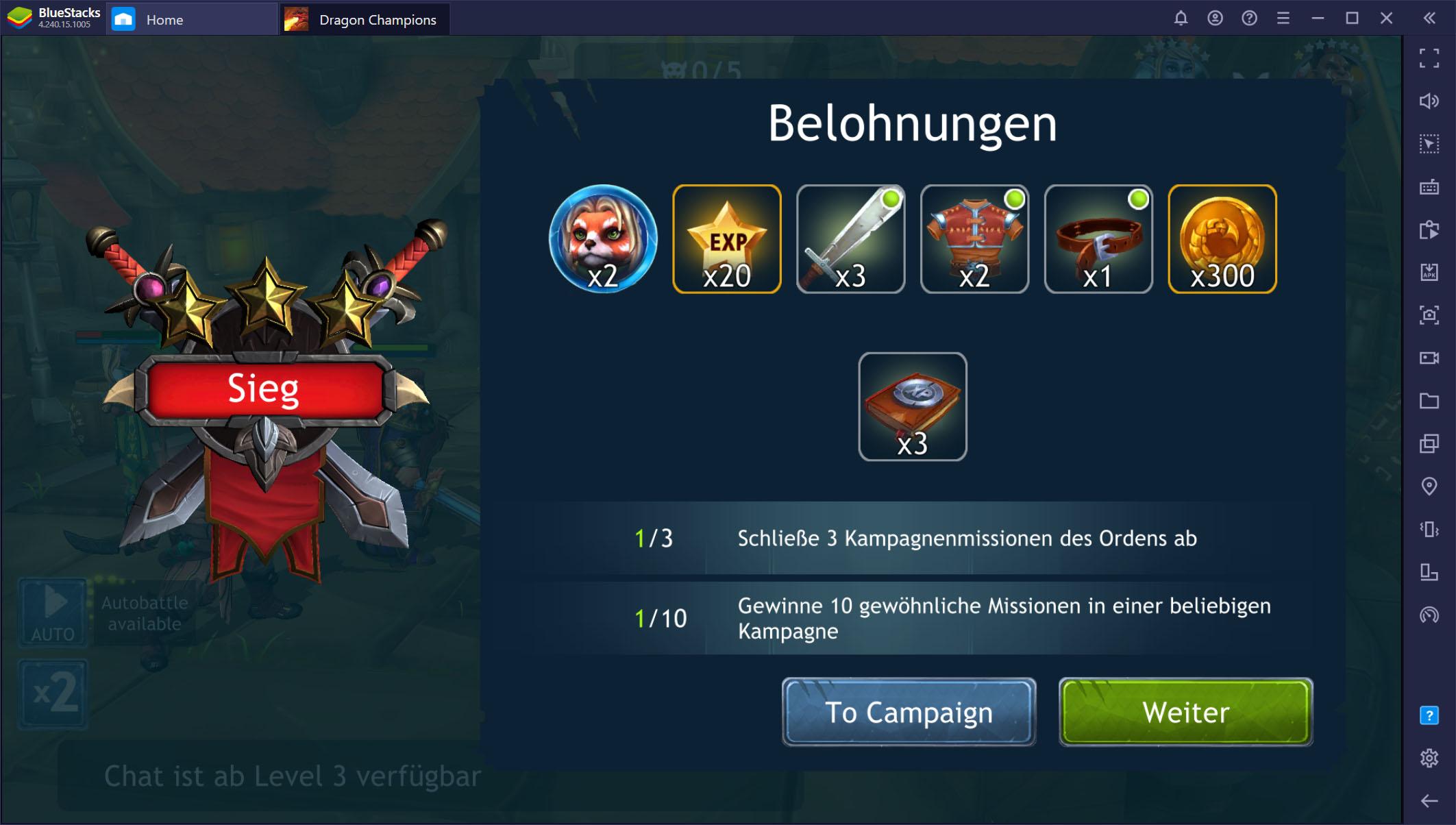 Dragon Champions auf dem PC – Tipps und Tricks für schnellen Fortschritt