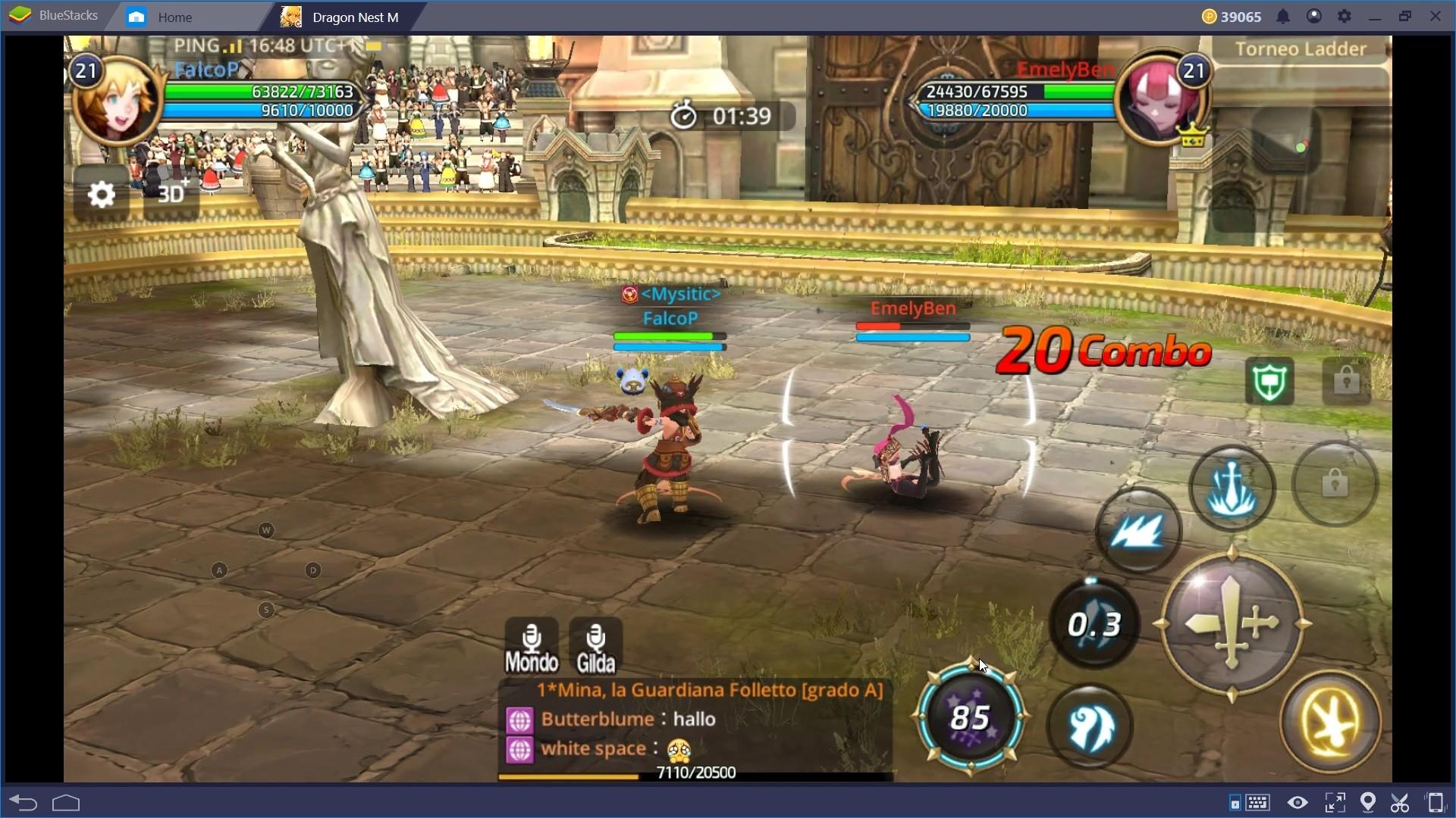 Dragon Nest M: Combattere nel PvE e PvP