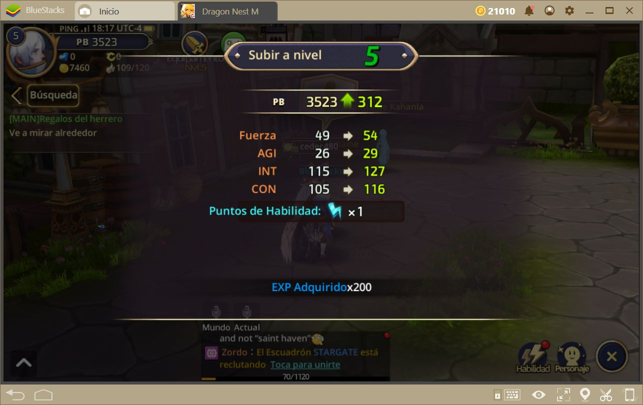 Cómo Subir de Nivel Eficientemente en Dragon Nest M