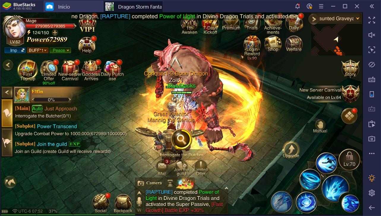 Dragon Storm Fantasy – Guía Para Avanzar Rápido e Incrementar tu Poder