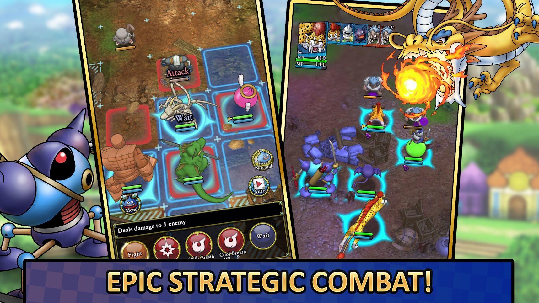 戰略RPG《勇者鬥惡龍 戰略指揮家》 國際版搶先領略風格玩法