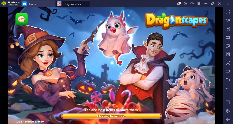 Dragonscapes Adventure auf dem PC – Setup-Leitfaden: Rette Drachen und erkunde Inseln mit BlueStacks