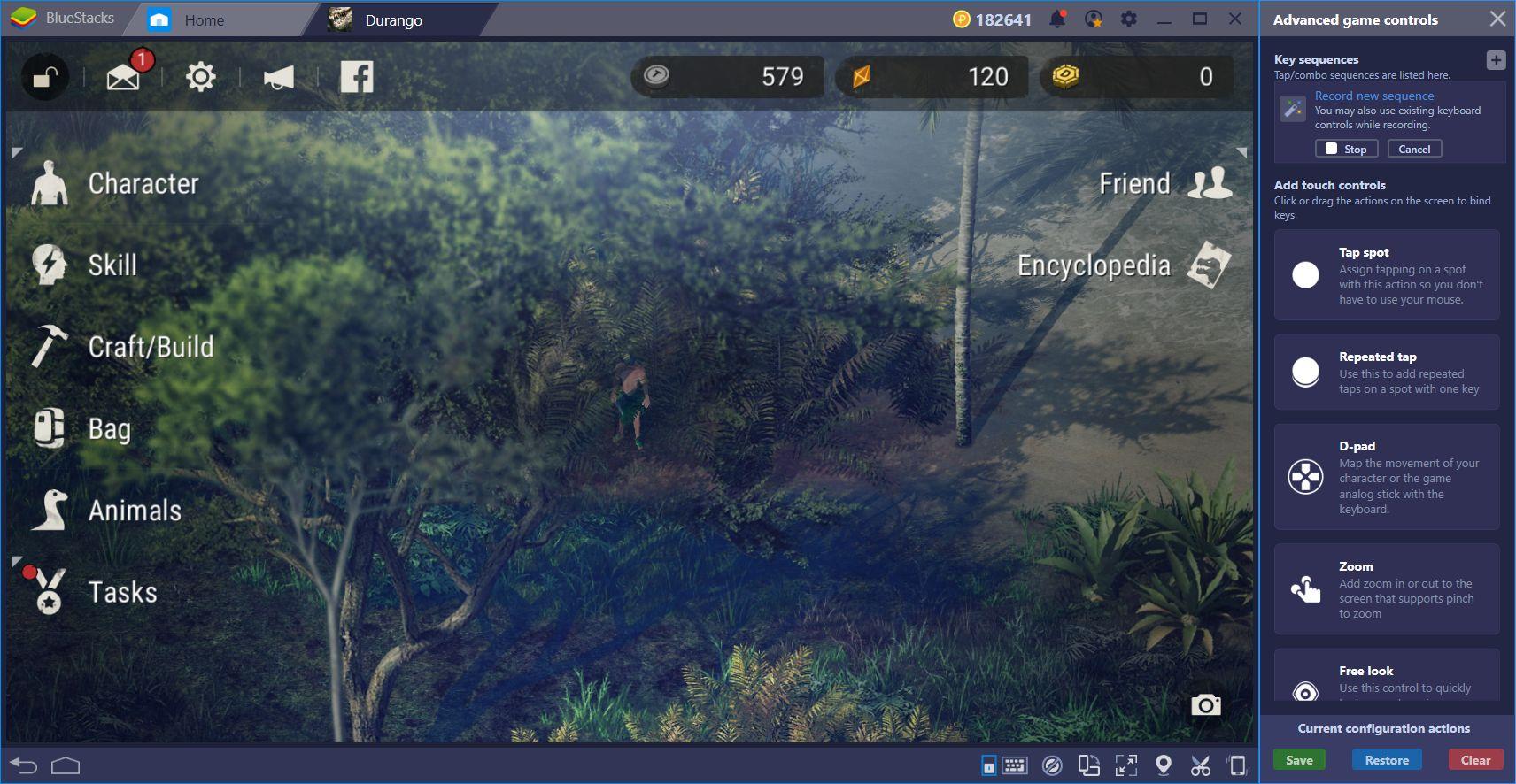 Durango Wild Lands: Brave The Wilderness of the Islands With BlueStacks