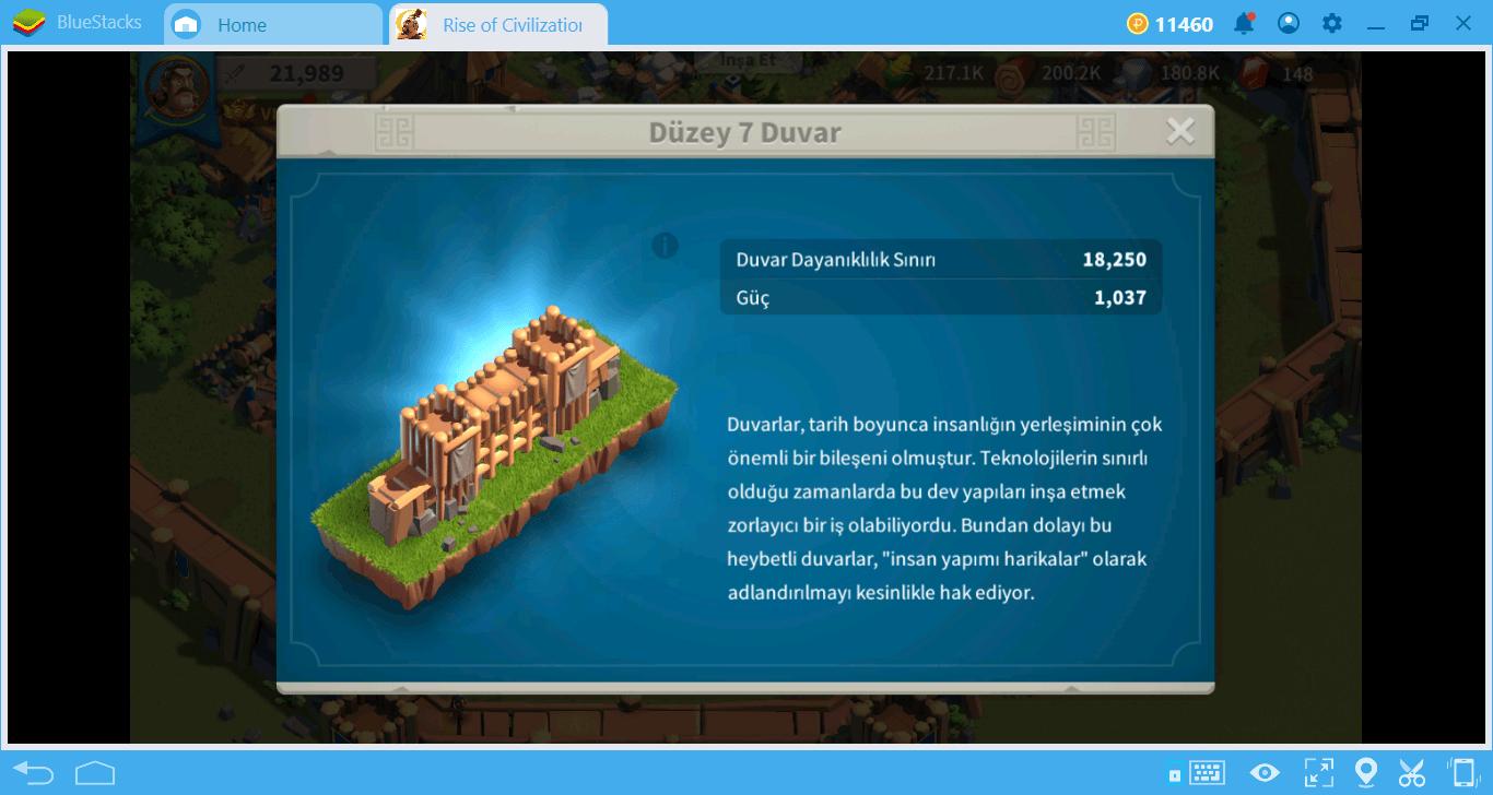 Rise of Kingdoms Binalar Rehberi ve Büyüme Stratejileri