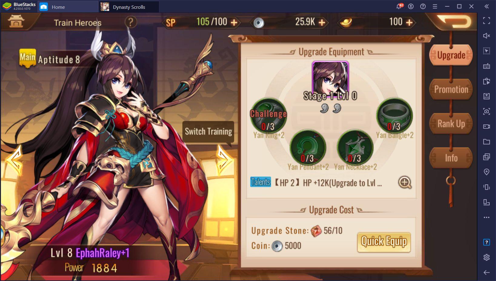 Dynasty Scrolls auf dem PC – Die besten Tipps und Tricks für Neulinge