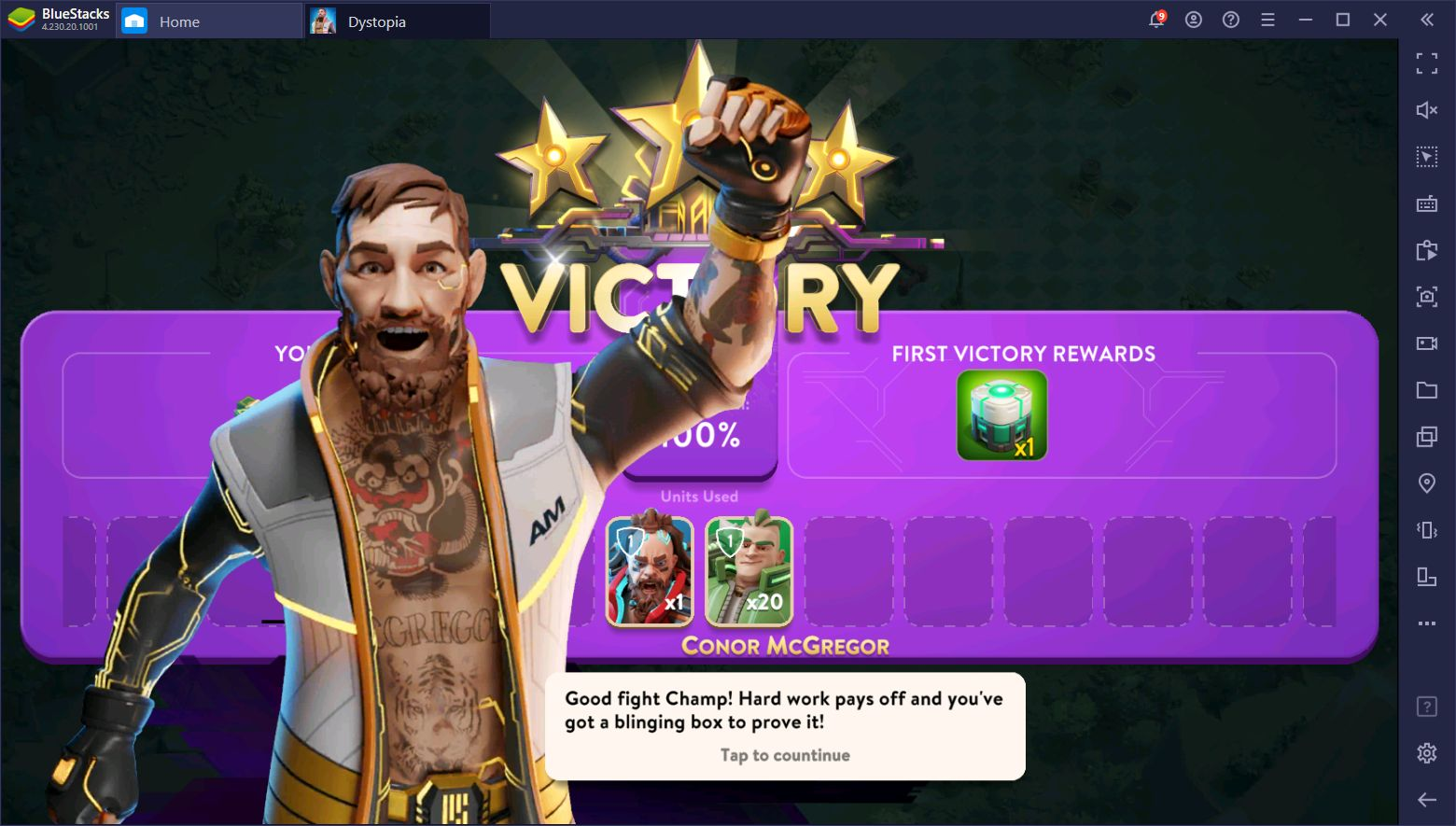 New Mobile Strategy Game 'Dystopia' Features UFC's Conor McGregor as Guest Star